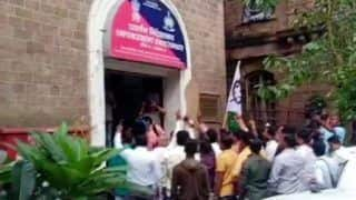 NCP Protests Outside ED Office in Mumbai, Day After Sharad Pawar Named in Alleged Bank Scam