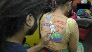 Surat Women Prep For Navratri With Body Paint Tattoos Featuring PM Narendra Modi, Donald Trump, Chandrayaan-2, Article 370 (PICS)