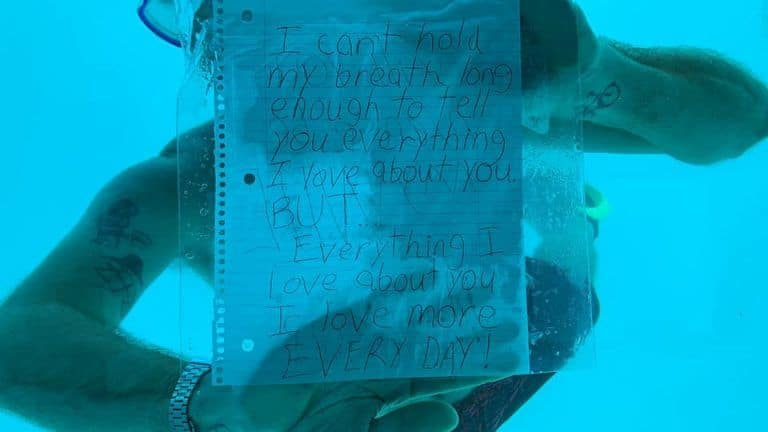 Devastating! Man Drowns as he Goes Underwater to Propose to Girlfriend