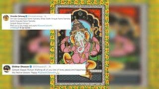 Ganesh Chaturthi 2019: Shikhar Dhawan to Virender Sehwag, How Cricketers Wished Fans on Lord Ganesha's Festival | SEE POSTS