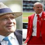 Former England Prime Minister Theresa May Confers 'Knighthood' on Geoffrey Boycott and Andrew Strauss