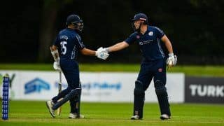 Dream11 Team Ireland vs Scotland Twenty20 International Ireland Tri-Series 2019 - Cricket Prediction Tips For Today's T20I Match 3 IRE vs SCO at The Village, Dublin