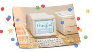Google birthday: Search giant celebrates its 21st birthday with a doodle