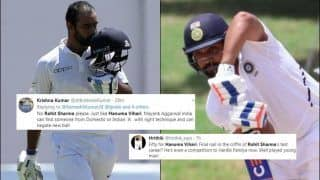 Ind vs WI: Fans Praise Hanuma Vihari After Another Impressive Knock in Jamaica, Reckon It's Over For Rohit Sharma | SEE POSTS