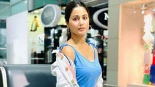 Hina Khan's Latest Airport Look is Hot And Comfy And we Are Left Smitten by Her Look