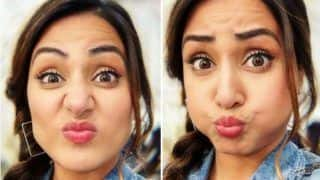 Hina Khan Makes Crazy Faces in Stunning Denim Avatar And Fans Can't Stop Gushing Over Her