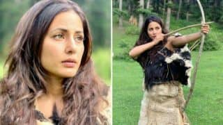 Hina Khan Looks Fierce in Her First Look From Indo-Hollywood Film 'The Country of The Blind'