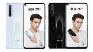 Honor 20s और Honor Play 3 स्मार्टफोन ट्रिपल कैमरा सेटअप के साथ हुए लॉन्च, जानें कीमत और स्पेसिफिकेशंस