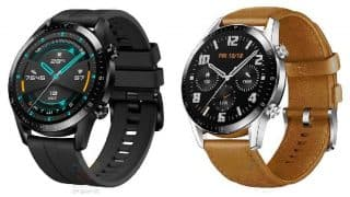Huawei Watch GT 2 images and specs leaked, to feature bigger battery