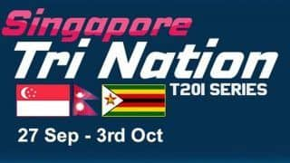Dream11 Team Nepal vs Singapore 2nd Match SIN vs NEP vs ZIM T20I Tri-Series 2019 – Cricket Prediction Tips For Today's T20 Match NEP vs SIN at Indian Association Ground