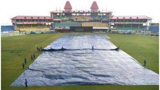 INDvSA: भारत-दक्षिण अफ्रीका मैच को लेकर बुरी खबर, धर्मशाला में हो रही तेज बारिश, देखें VIDEO