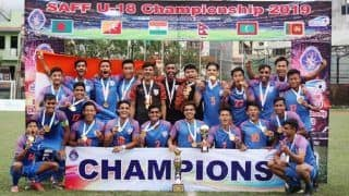 India U-18 Football Team Lift SAFF U-18 Championship After 2-1 Win Over Bangladesh