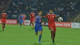 Sunil Chhetri's Goal Goes in Vain as Oman Beat India 2-1