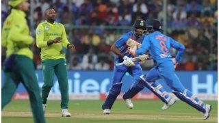 INDvSA: नहीं चले भारतीय बल्लेबाज, दक्षिण अफ्रीका को दिया 134 रनों का लक्ष्य