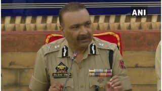 जम्मू-कश्मीर के DGP ने कहा- आकाओं को खुश करने के लिए शांति भंग करना चाहते हैं आतंकवादी