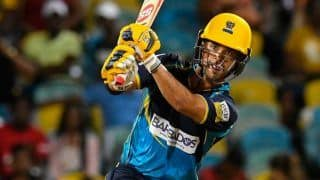 Duminy Records Fastest CPL Fifty as Tridents Beat Knight Riders