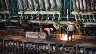 Industrial Output Slows to 2.1 Per Cent in July Compared to 7.3 per Cent Last Year