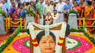 AIADMK Leader Holds Son's Marriage at Jayalalithaa's Final Resting Place as Mark of Respect