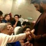 Jaya Bachchan Removing Something Off Abhishek's Blazer in Middle of Conversation is Basically All Moms Ever - Viral Video