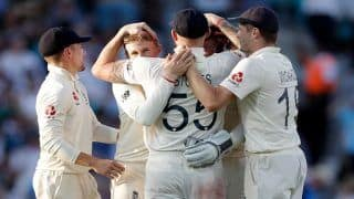 Ashes 2019: Stuart Broad's Heroics Overshadow Mathew Wade's Hundred as England Beat Australia by 135 Runs in 5th Test to Level Series 2-2; Visitors Retain Urn