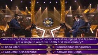 KBC 11: The Don Bradman Question Which Ended Kaun Banega Crorepati 2019's 1st Crorepati Sanoj Raj's Dream Run | WATCH VIDEO