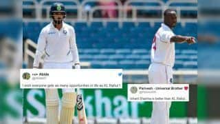 Ind vs WI: KL Rahul TROLLED Brutally For His Six Off 63 Balls at Jamaica | SEE POSTS
