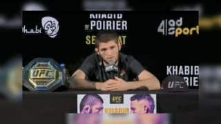 Khabib Nurmagomedov's Reply After Beating Dustin Poirier in UFC 242 to Retain Lightweight Title Will Win Your Respect | WATCH VIDEO