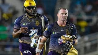 Dream11 Team St Kitts and Nevis Patriots vs Trinbago Knight Riders Caribbean Premier League 2019 - Cricket Prediction Tips For Today's CPL Match 14 SKN vs TKR at Warner Park, Basseterre, St Kitts