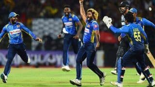 Lasith Malinga Claims Historic Hat-Trick With 4 Wickets in 4 Balls Versus New Zealand in 3rd T2oI in Kandy, Twitter Bows Down to Sri Lankan Legend | WATCH VIDEO