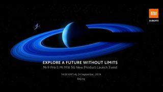 आज लॉन्च होंगे Xiaomi के दो 5G स्मार्टफोन Mi MIX 4 Alpha और Mi 9 Pro, ऐसे देखें इवेंट की लाइव स्ट्रीमिंग