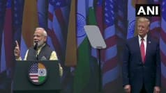 'Ab Ki Baar Trump Sarkar,    Says PM Modi in His Praise For US President in Houston