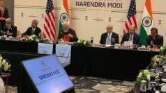 Energising Indo-US Ties: PM Meets Energy Sector CEOs in Houston, to Address 'Howdy Modi' Event Tonight