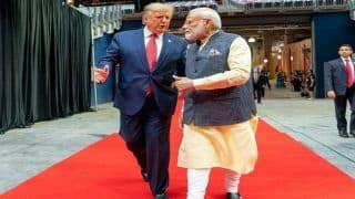 US President Trump Makes Suprise Visit at UN Climate Summit, Attends PM Modi's Speech