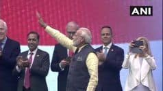 PM in Houston LIVE: Modi Arrives at NRG Stadium, US Senators Welcome Him
