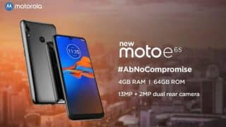 Moto E6s scheduled to launch on September 16 in India; specifications