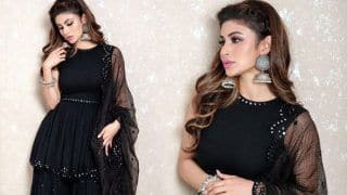 Made in China Promotions: Mouni Roy Wears All-black Sharara And Fans Can't Stop Gushing Over Her