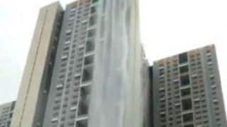 Mumbai Rains: Cuffe Parade Skyscraper Turns Into Waterfall, Netizens Are Left Amazed