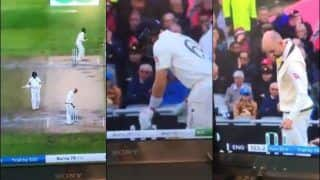 Ashes 2019: Nathan Lyon Changed the Bails For Fun, Joe Root Changed The Back at Old Trafford During 4th Test | WATCH VIDEO