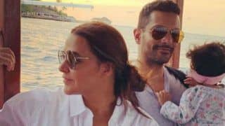 Neha Dhupia, Angad Bedi Share Adorable Posts For Their Baby Girl Mehr as She Turns 10 Months Old