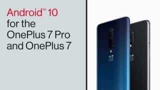Android 10 update rolling out for OnePlus 7, OnePlus 7 Pro