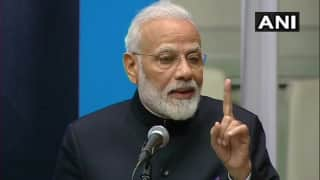 PM Modi Along With Global Leaders Inaugurate Gandhi Solar Park, Peace Garden at UN