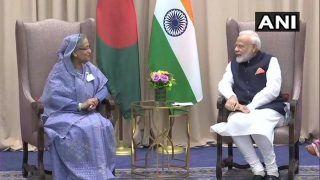 UNGA: PM Modi Holds Bilateral Meeting With Bangladesh PM Sheikh Hasina