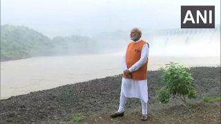 जन्मदिन पर गुजरात में 'स्टेच्यू ऑफ यूनिटी' पहुंचे प्रधानमंत्री मोदी