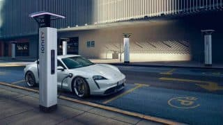 Porsche Taycan is the first proper challenger to Tesla Model S, has a range of 450 kilometers