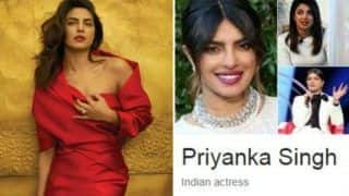 Priyanka Chopra's Name on Google is 'Priyanka Singh' And we Wonder Why