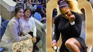 Priyanka Chopra Turns Fangirl For Serena Williams During US Open 2019 Women's Singles Quarterfinal, Congratulates American Legend on Historic 100th Win | SEE PICS