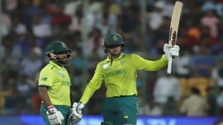 IND vs SA 3rd T20I Match Report: Quinton De Kock Stars as South Africa Thrash India by Nine Wickets to Level Series 1-1 in Bengaluru