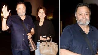 Watch: Welcome Back, Rishi Kapoor! Actor Returns Cancer-Free With Wife