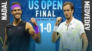 Rafael Nadal vs Daniil Medvedev US Open 2019 Men's Singles Final Live Streaming in India, When And Where to Watch Nadal vs Medvedev Preview, TV Broadcast, Online Streaming, Time in IST, Match Details