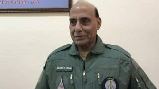 Defence Minister Rajnath Singh Inquires About Pilots After IAF's MiG-21 Crashed in Gwalior